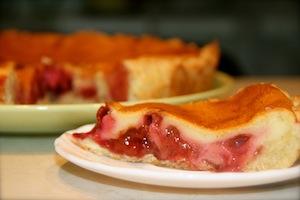 Страсбургский сливовый пирог