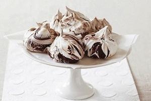 Шоколадная меренга