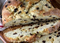 Ирландский хлеб с изюмом