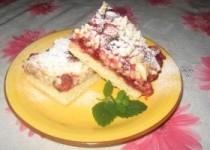 Тертый пирог «Ягодка»